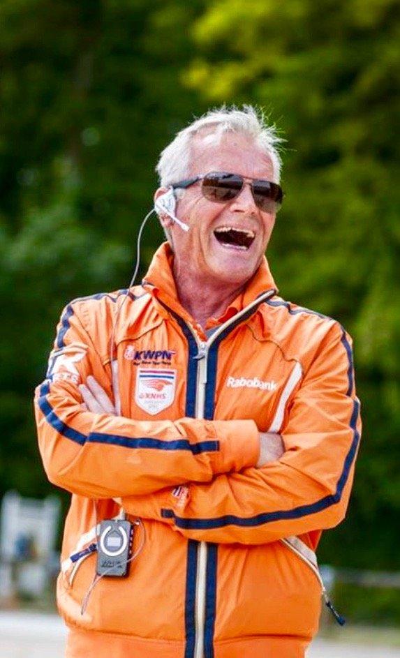 Alex van Silfhout   National coach NL