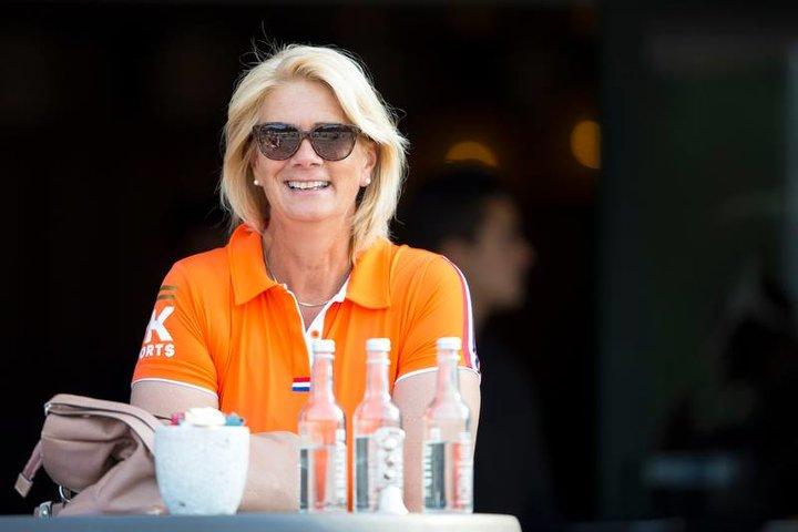 Monique Peutz   National coach NL
